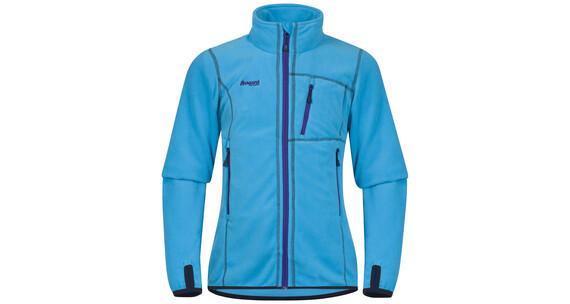 Bergans Youth Girl Runde Jacket Br SeaBlue/Navy/Lavender